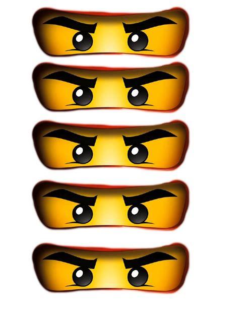 ninjago printable eyes afbeeldingsresultaat voor ninjago ogen kinderfeestje
