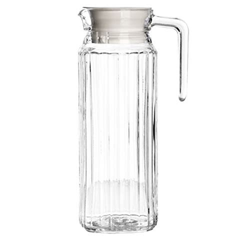 glass jug for fridge door essentials fridge jug 1ltr glass jug with lid that fits