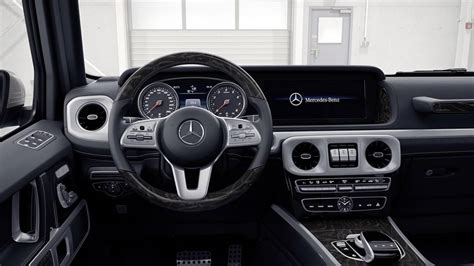 mercedes g class interior 2019 mercedes g class take a dive into its