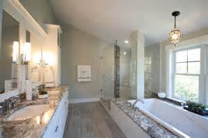 Modern Master Bathrooms Modern Master Bathroom With Laminate Floors Wall Sconce In Kensington Md Zillow Digs
