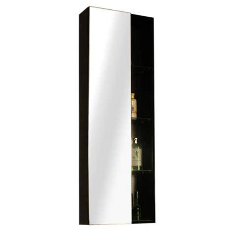 black bathroom storage units glow black wall hung mirror storage unit buy at