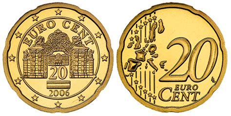20 buro cent collecting the coins of austria 20 cent