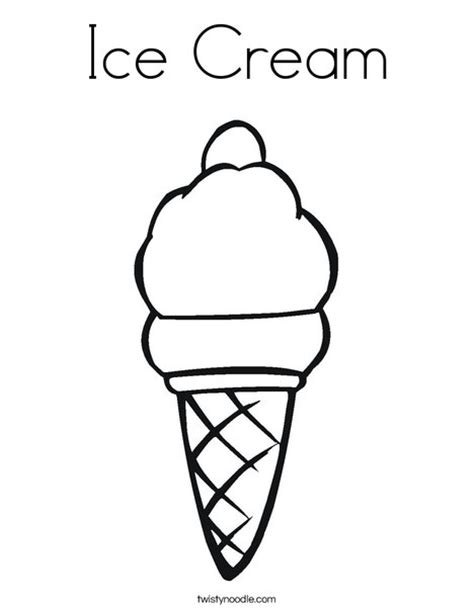 preschool ice cream coloring pages ice cream coloring page twisty noodle