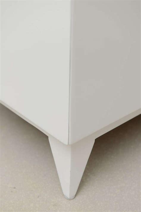 Modern White Lacquer Desk Mid Century Modern White Lacquer Desk At 1stdibs