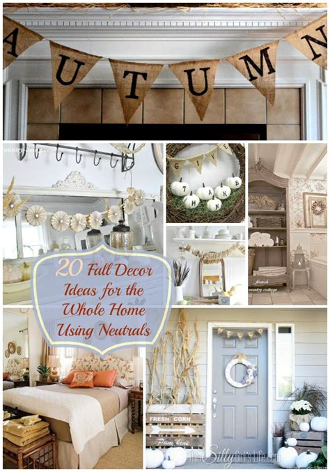 how to decorate whole house 20 fall decor ideas for the whole home using neutrals