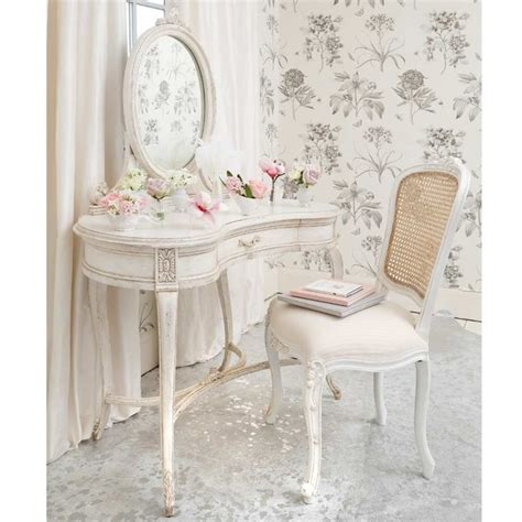 shabby chic furniture provencal white rattan french chair