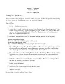 Sample Resume For Security Officer   Sample Resume