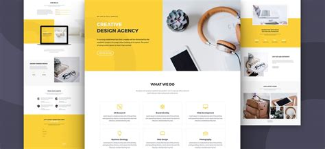Download A Free Impressive Design Agency Layout Pack For Divi Elegant Themes Blog Divi Layout Templates