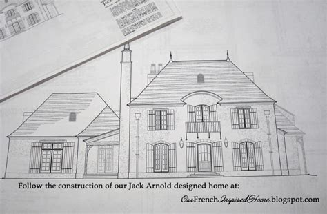 jack arnold floor plans our french inspired home our jack arnold home floor plan