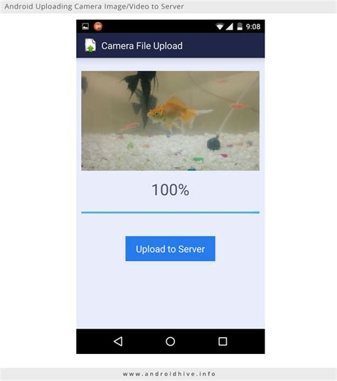 tutorial android studio camera android uploading camera image video to server with