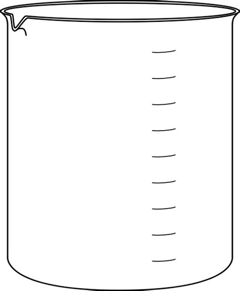 Chemistry Coloring Page Measuring Jug Outline Clipart Best by Chemistry Coloring Page