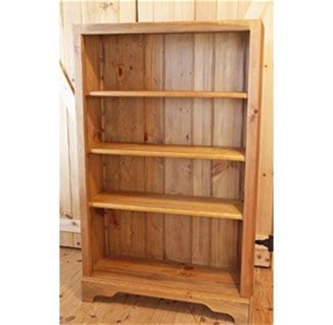 Hand Crafted Shaker 5 White Pine Bookcase By White Sands White Pine Bookcase