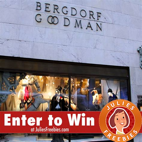 Enter To Win A 5000 Glamcom Shopping Spree by Win A 5 000 Bergdorf Goodman Shopping Spree Julie S