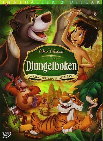 se filmer jungle disney klassiker 19 djungelboken platinum edition 2