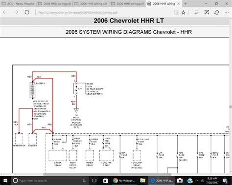 2009 chevy hhr stereo wiring diagram gm silverado door
