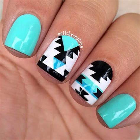 design nails online fifteen beautiful and colorful art designs for short nails