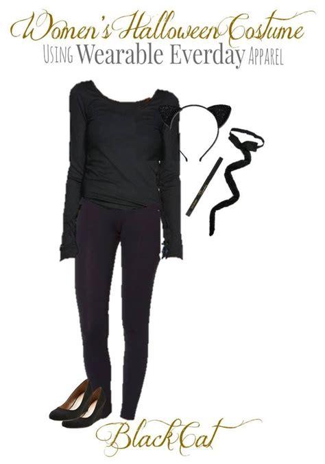 diy black cat costume  women  clothes