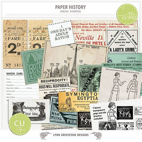 Paper History - paper history by the lilypad designer grieveson