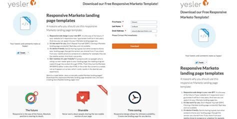 Reasons To Use Responsive Marketo Landing Pages And How To Create Them Marketo Responsive Email Templates