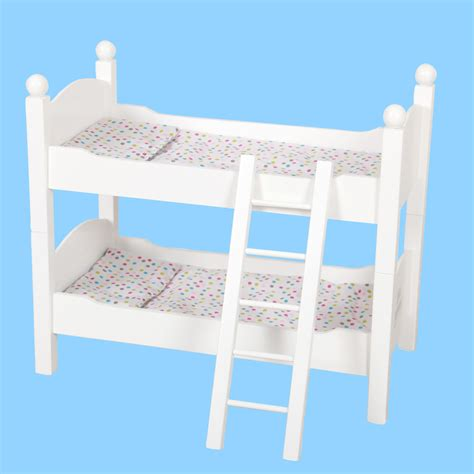Baby Doll Bunk Bed Kenyield 18 Quot Doll Furniture Bunk Bed Toys Dolls Accessories Baby Dolls