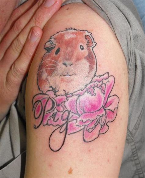 guinea pig tattoo guinea pig memorial picture at checkoutmyink