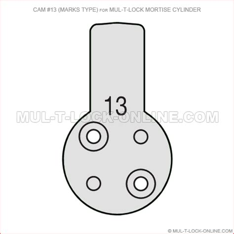 Mul T Lock Online Cam 13 For Mul T Lock Mortise Cylinder Marks Mortise Lock Template