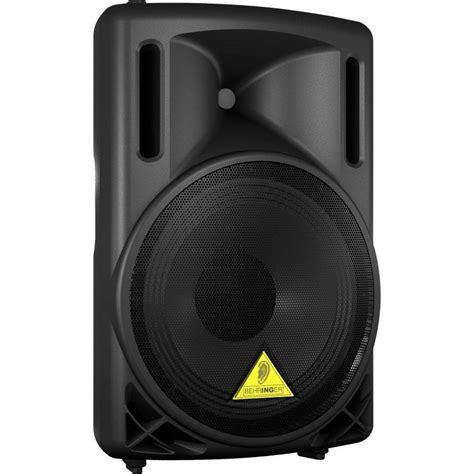 Speaker B Q 10 By Vln Audio behringer b212d 550w powered speaker mcquade