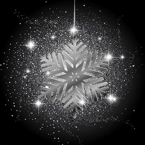 christmas snowflake glitter background   vector art stock graphics images