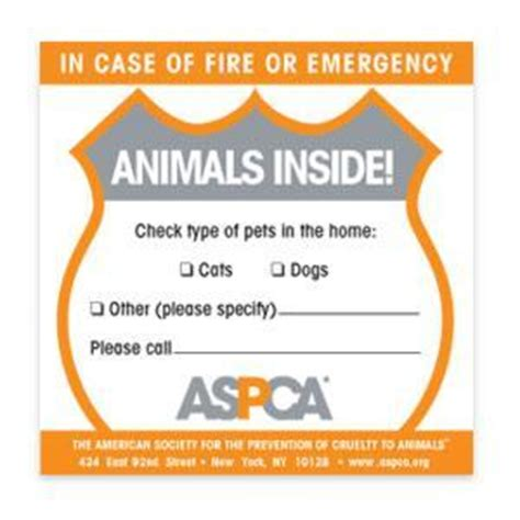 Aufkleber Feuerwehr Tiere by In Of Rescue My Pets Sticker Canipiccola