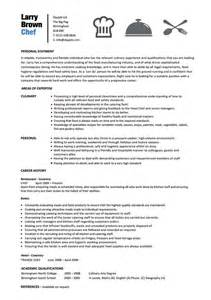 chef resume templates chef resume template resume format pdf