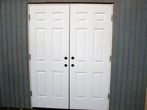 Exterior Shed Doors by Outdoor Shed Doors Storage Shed Plans Shed Plans Kits