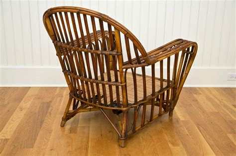 Wicker Chair Ottoman Antique Stick Wicker Chair And Ottoman Image 7