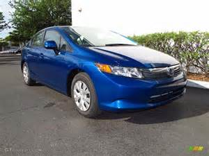 dyno blue pearl 2012 honda civic lx sedan exterior photo
