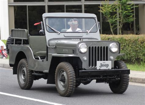 Jeep Enthusiast Mitsubishi 1955 Jeep Jeep Enthusiast