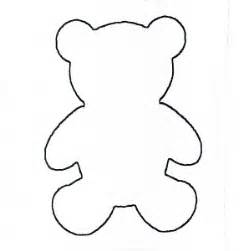 Cut Out Teddy Template by Teddy Stencil Clipart Best