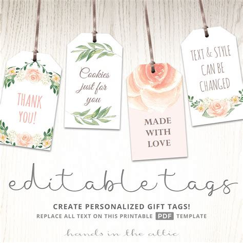template for baby shower favors printable baby shower labels bridal shower favor tags