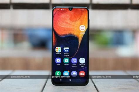 Samsung Galaxy A50 On by Samsung Galaxy A50 Review Ndtv Gadgets360