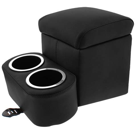 black bench seat console shorty bench seat cruiser console cup holders plus