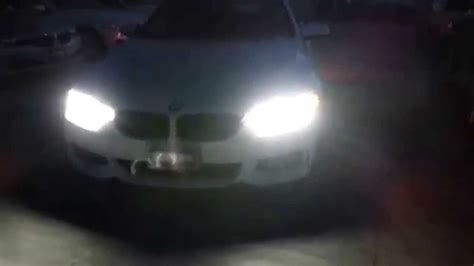 Bmw Adaptive Full Led 435i Headlights At Night Youtube