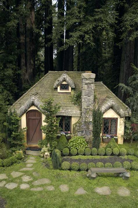 English Tudor Homes by Aplaceimagined English Cottage Playhouse