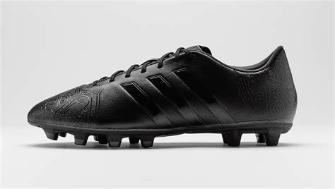 adidas launch the quot black pack quot football boots soccer bible