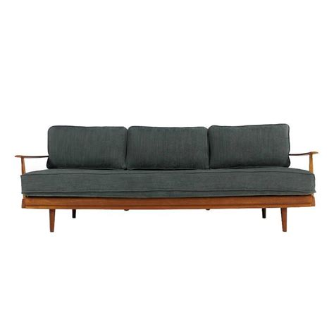 Modern Daybed Sofa 1960s Teak Daybed Knoll Antimott Germany Mid Century Modern Sofa At 1stdibs