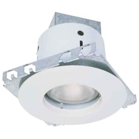 commercial electric 5 in white recessed lighting kit