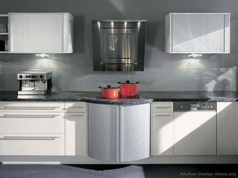 White Contemporary Kitchen Cabinets Pictures Of Kitchens Modern White Kitchen Cabinets Kitchen 16