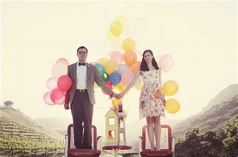 up film wedding wedding pictures inspired by disney pixar s movie quot up quot