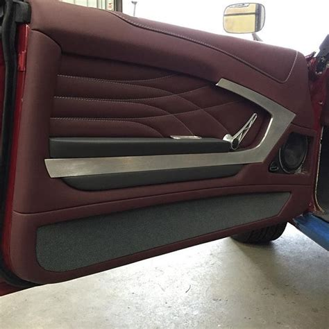 door panel upholstery instagram post by dave vos customs by vos modern