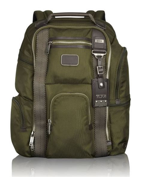 Tumi Kingsville Deluxe Brief Pack 222382nvy2 tumi kingsville deluxe brief pack in green for spruce