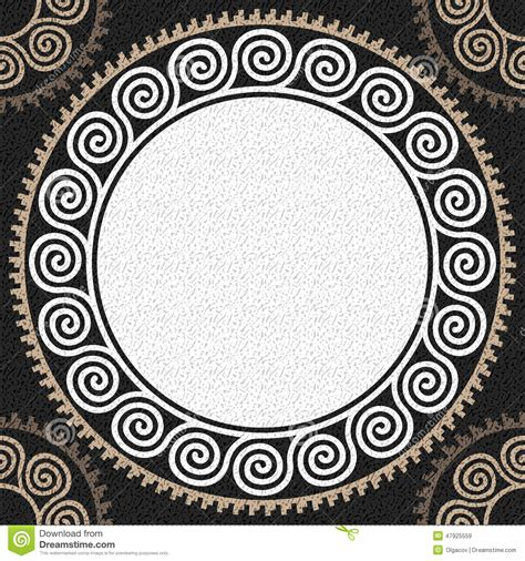 greek pattern svg vector seamless vintage white greek ornament meander