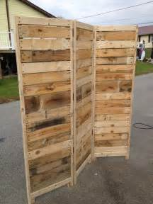 Room Dividers Made From Pallets Sale Handmade Primitive Room Divider By