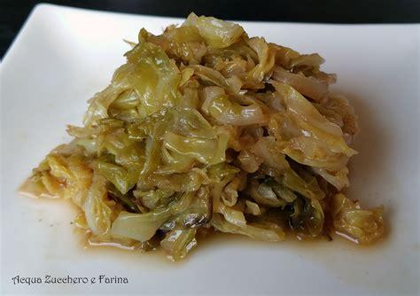 come si cucina la verza cavolo verza in agrodolce ricetta con la pentola a